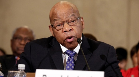 Democratic Rep. John Lewis says he's doesn't consider Donald Trump a ''legitimate president,'' blaming the Russians for helping the Republican win the White House. (Reuters)