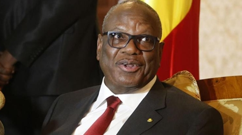 """Mali's president,  Ibrahim Boubacar Keitahas called for Gambian leader Yahya Jammeh to step down and avoid an unnecessary """"bloodbath"""" by clinging to power and forcing a potential military intervention. (Reuters)"""