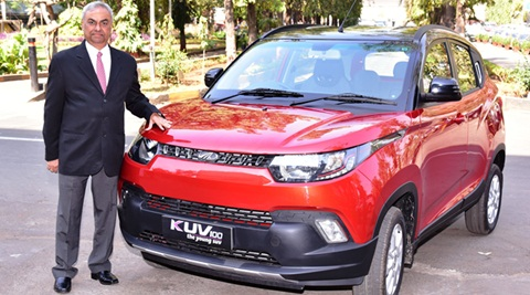 Mahindra launches KUV100 with dual tone colours, priced at Rs 6.37 lakh