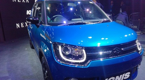 Maruti Suzuki Ignis launched in India at Rs 4.59 lakh