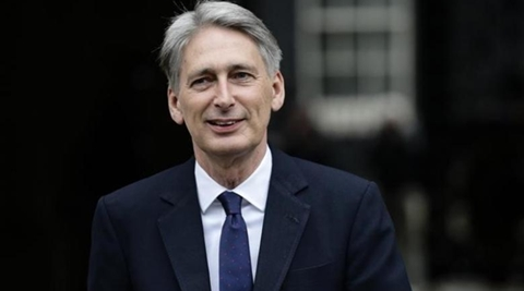 """Treasury chief Philip Hammond said that Britain is prepared to """"do whatever we have to do"""", including turning away from Europe to other markets, to protect its economy. (Reuters)"""