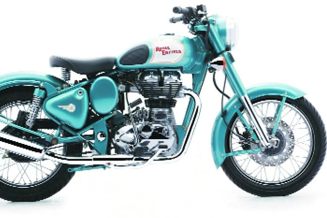Royal Enfield revenues were in line with estimates.
