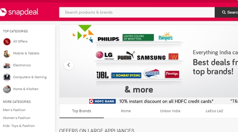 snapdeal-s-website