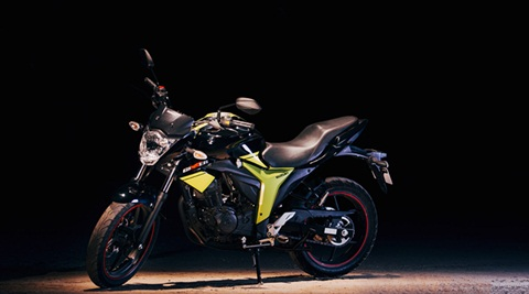 Suzuki exports 720 units of made in India Gixxer to Japan