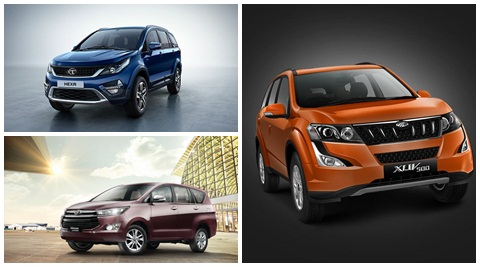 Tata Hexa Vs Mahindra XUV500 Vs Toyota Innova Crysta: Engine, Features, Safety and Price
