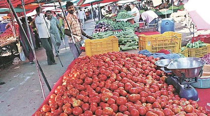 Kumar, who cultivates tomatoes on his five-acre farm, said he made a profit of Rs 30 lakh during the same time last year.