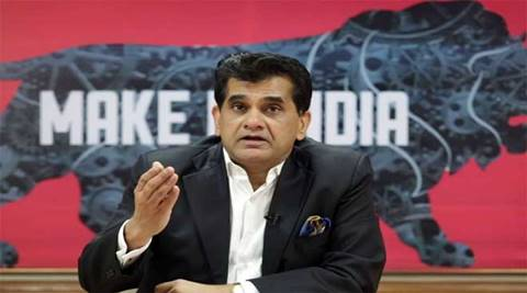 "Speaking at a session here at the WEF Annual Meeting here, Amitabh Kant said, ""Provide universal basic income, but as a repayable loan for productive purposes."" (PTI)"