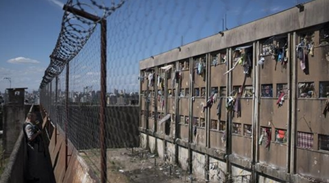 Fighting between rival gangs in a prison in northern Brazil has reportedly left at least 10 inmates dead in the latest in a series of massacres in the South American country's penitentiaries. (AP)