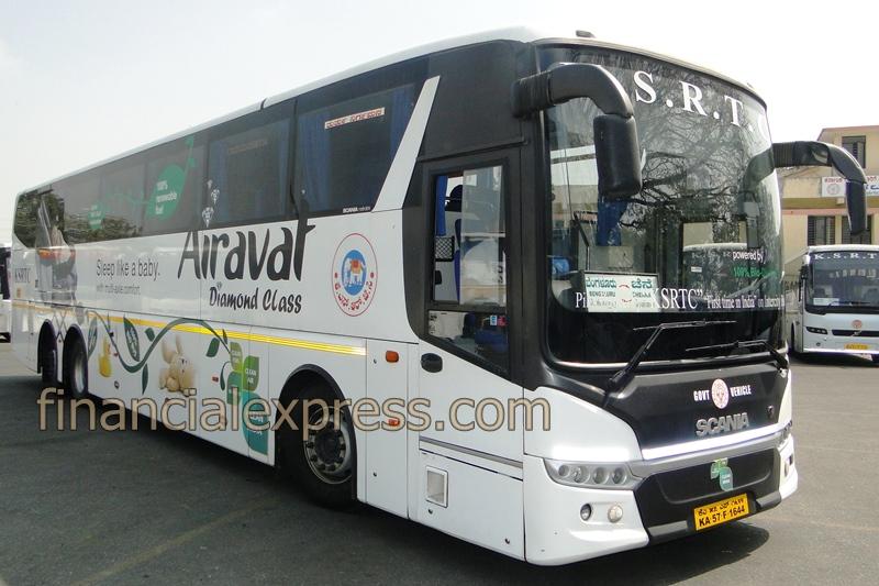 KSRTC bio diesel buses, bio diesel buses
