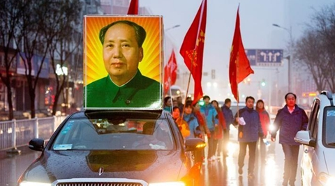 is still officially venerated by the ruling Communist Party as the founder of modern China. (Reuters)