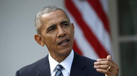 """Responding to the moment of galactic glory, Obama tweeted, """"That is out of this world. Thanks."""" (Reuters)"""