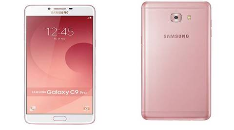Samsung Galaxy C9 Pro will be available in two colours, black and gold. The device will be available across all retail channels in the latter half of February 2017 at a price of Rs 36,900. (Website)