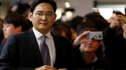 samsung, samsung chief jay y lee, jay y lee, south korea, samsung leader jay y lee, lee kun-hee, constitutional court, corruption