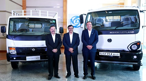 Ashok Leyland Launches Two New Commercial Vehicles Guru And Partner