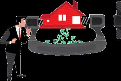Taxpayers earning huge income either from salary or business could reduce their tax liability by setting off the loss from house property on account of interest paid on loan taken for acquisition of the house property. (Illustration: Shyam)