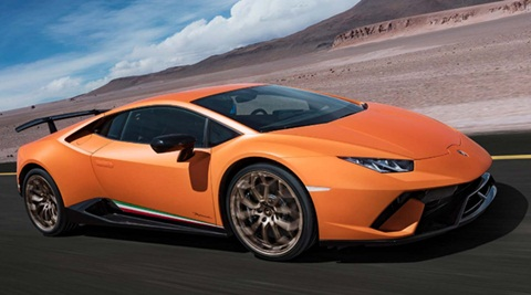 Lamborghini Huracan Performante to be launched on 7th April, 2017