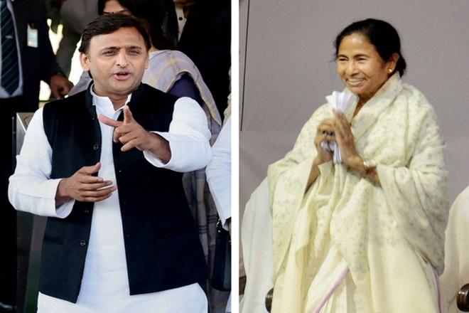 Mayawati, Bharatiya Janata Party, Samajwadi Party, Akhilesh Yadav, Uttar Pradesh, Trinamool Congress, Mamata Banerjee