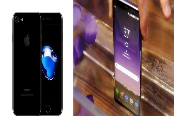 samsung galaxy s8 vs apple iphone 7, galaxy s8 iphone 7, galaxy iphone, samsung apple, samsung smartphone, galaxy s8 smartphone, galaxy s8 plus, samsung apple galaxy s8, samsung galaxy s8 features, samsung comparision, galaxy s8 comparision, galaxy s8 iphone comparision, samsung bixby, galaxy s8 bixby, siri bixby, galaxy s8 specs, galaxy s8 details, samsung galaxy s8 points, samsung galasy s8 better, infinite display, samsung galaxy s8 infinite display, samsung galaxy s8 processor, samsung galaxy dex, samsing dex