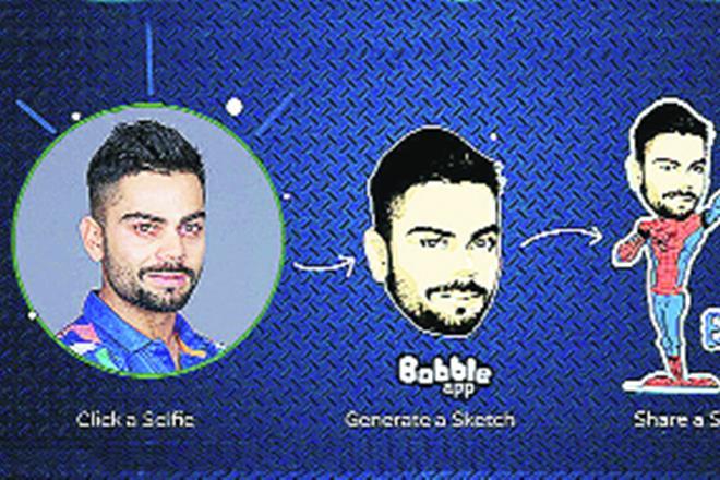 emoji app, Mohd Wassem, Ankit Prasad, Bobble Keyboard app, Bobble, Bobble app, Snapchat, WhatsApp, FB Messenger, Delhi-based start-up, iMessage app, Foxconn, start-ups