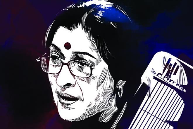 Kishori Amonkar, Hindustani classical music, Vocal artist, Jaipur-Atrauli Gharana, Bhendi Bazar Gharana, Natya Shastra, Kishori Tai