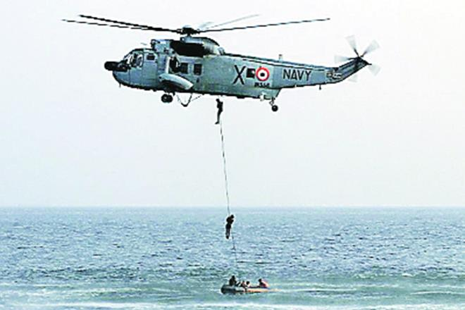 Indian Navy, Sea King CH-124 helicopters, Canada's defence minister, Harjit Sajjan, multi-role helicopter, MRH, NUHs, Indian Navy