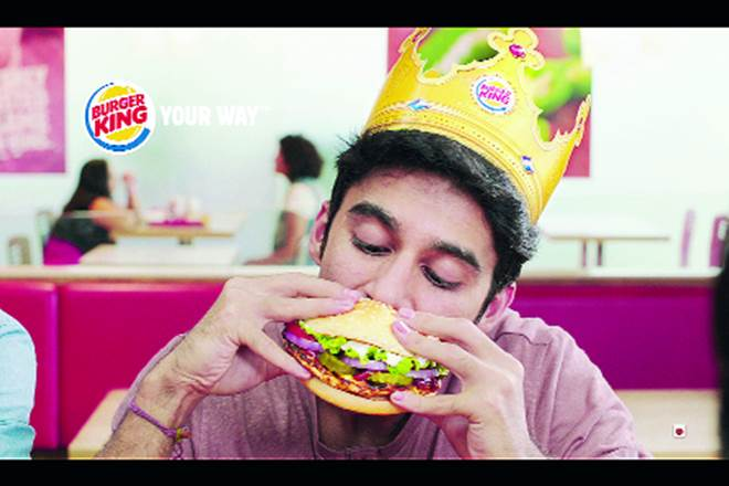 Burger King, Burger King India, Burger King store, Burger King store in India, Whopper, Burger King's first mainstream TVC in India, burgers in India, burger stores in India, F&B