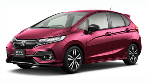 Facelifted Honda Jazz revealed in Japan, India launch later
