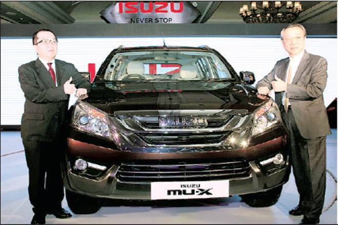 Isuzu Mu X 7 Seater Suv Launched In India Priced At Rs 23 99 Lakh