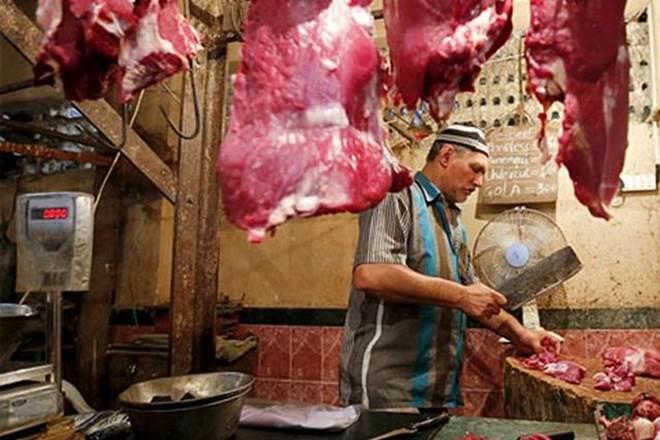 illegal abattoirs in UP, Yogi Adityanath government, India's buffalo meat exports, basmati rice exports, Apeda, buffalo meat industry