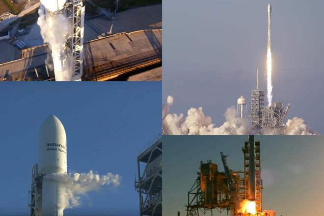 Inmarsat-5 Flight 4, spaceX, Space X falcon 9, falcon 9 space X, space X launch, Inmarsat 5, communication satellite, Boeing