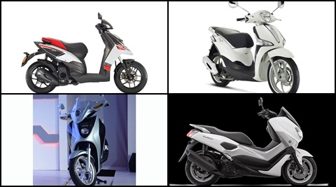 Upcoming scooters in India in 2017