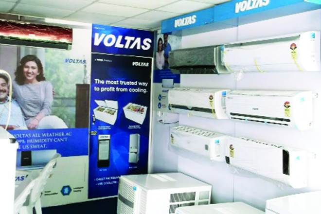 Jefferies rates Voltas as Buy, Voltas, primarily air-conditioner segment, AC segment, Electromechanical projects segment, engineering, demonetisation, MEP profitability surprises, Ebitda, Working capital