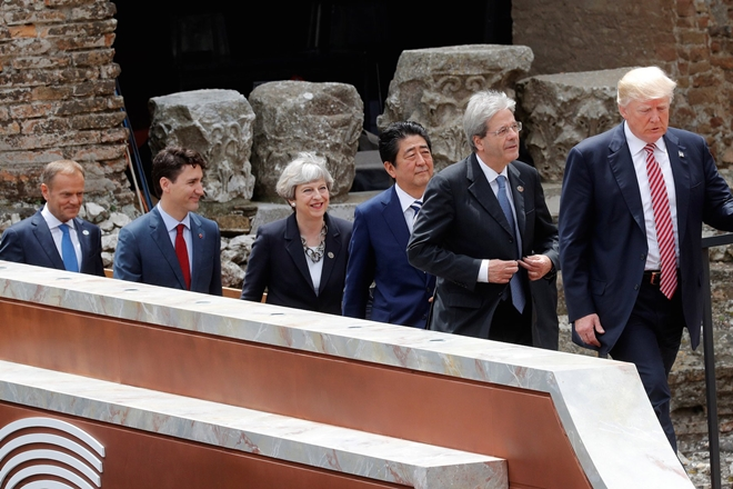 G7, G7 climate change, Donald Trump, Angela Merkel, China