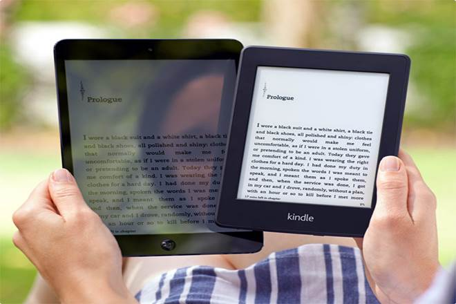 Amazon, Kindle, publishing industry, e-book readers, vogue