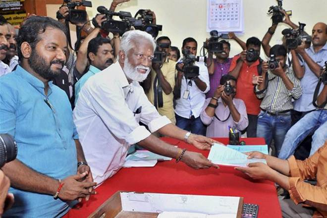 BJP's Kerala President, Kummanem Rajasekhera, Congress, CPI-M youth wing, BJP, cattle slaughtering