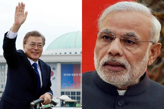 South Korea, Narendra Modi, Invites President, Moon Jae-in