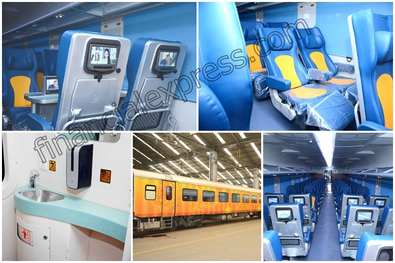 Tejas Express, Tejas Express photos, Tejas Express features