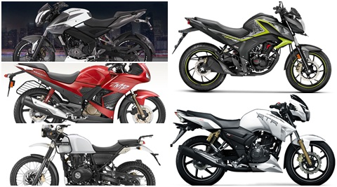 Bike prices in India: ex-showroom prices of motorcycles from Bajaj, Honda, Hero MotoCorp, TVS and Royal Enfield