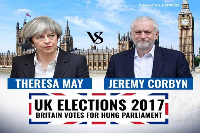 UK elections 2017, UK hung parliament, British Elections, uk elections, theresay may jeremy corbyn, theresay may, jeremy corbyn, UK elections what next, UK Prime Minister, britain hung parliament, house of commons, house of lords, uk votes, uk general elections, uk brexit, conservative party, labour party, brexit talks