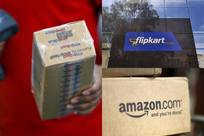 amazon flipkart snapdeal which is best, Amazon, Flipkart, ShopClues, taxation, GST rollout