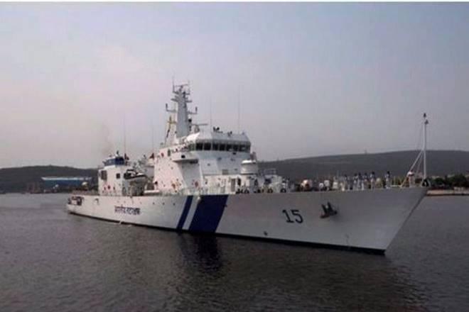 Coast guardrescue operation mangaluru, Coast Guard Karnataka, Coast guardrescue operation,Coast guardrescue, ICGS Amartya,Ullal coast, Dakshina Kannada district