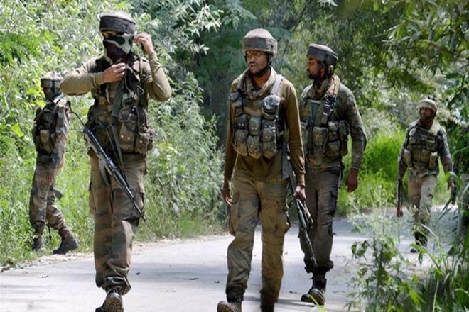 Shopian gunfight, ceasefire violation,South Kashmir's Shopian district,Badami Bagh area, militant attack,Rashtriya Rifles,
