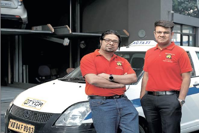 Ola, uber,Tygr,Tygr app, heavy vehicles,transportation business,omni transport app, Mumbai,India