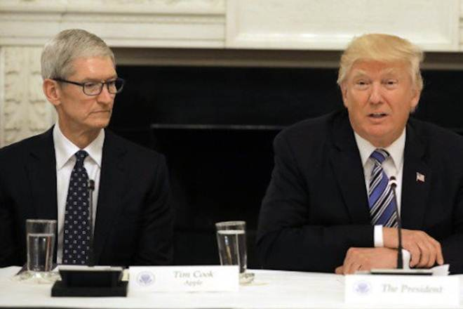 Donald Trump, Donald Trump on Tim Cook, Apple manufacturing units in US, Apple, apple's app ecosystem, Apple supplier