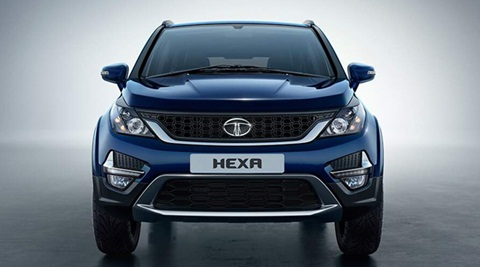 Tata Hexa for representation purpose only