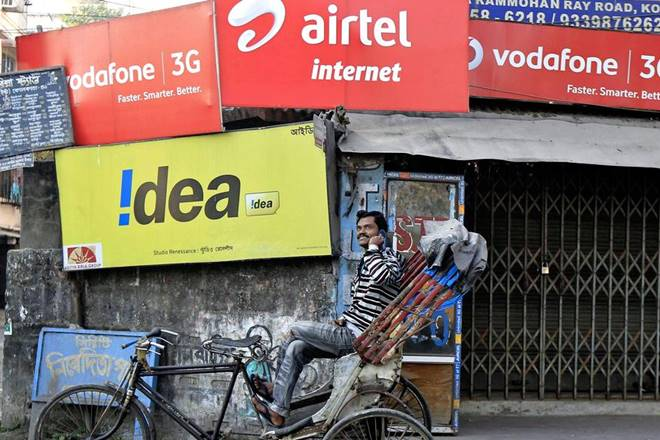 Bharti Airtel, Vodafone, Idea Cellular, telecom issues, telecom issue in india, telecom sector, cash-flow relief, NPV terms, high licence fees, inter-ministerial group