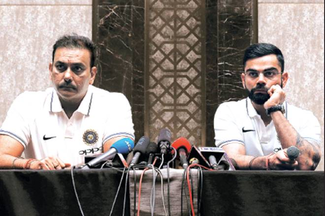 Ravi Shastri, Virat Kohli, Team India