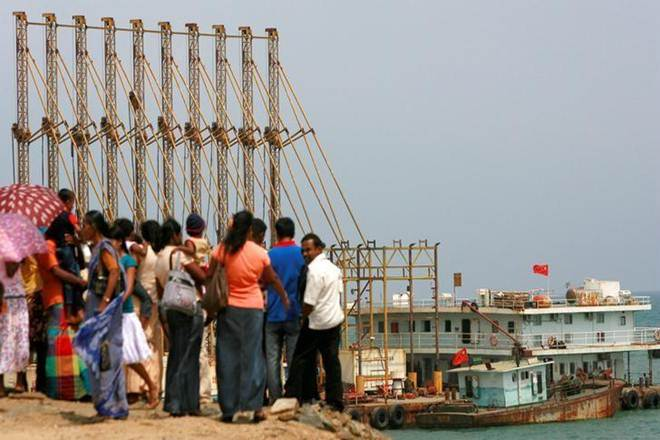 Sri Lanka Chinese port Hambantota, sri lanka china pact, China Merchants Port Holdings, Hambantota, silk route, chinese naval vessels, Hambantota International Port Group, chinese embassy