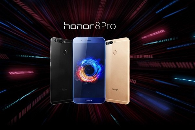 Designwise, both the devices flaunt unibody chassis with metal finish. But Honor 8 Pro comes with 6.97mm thin body while OnePlus 5 sports 7.25mm thinness. (Twitter)