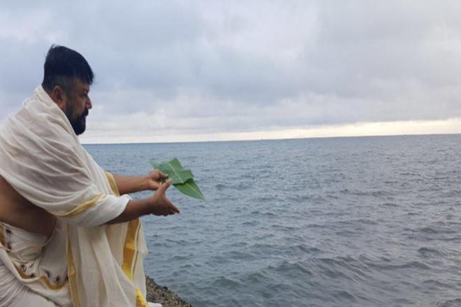 Karkidaka Vavu Bali, fiji islands,Karkidaka Vavu Bali, jayram fb postKarkidaka Vavu Bali,Mandapams ,Karkidakam,Malayalam actor